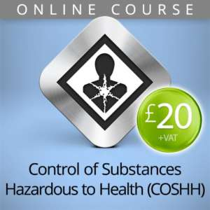 COSHH hazardous substances online course