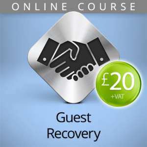 guest recovery online course