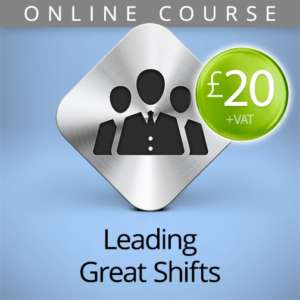leading great shifts online course