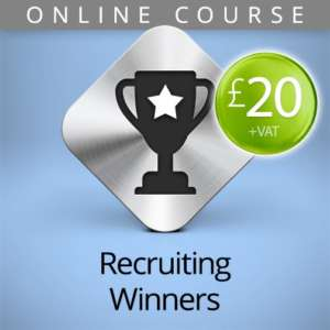 recruiting winners online course